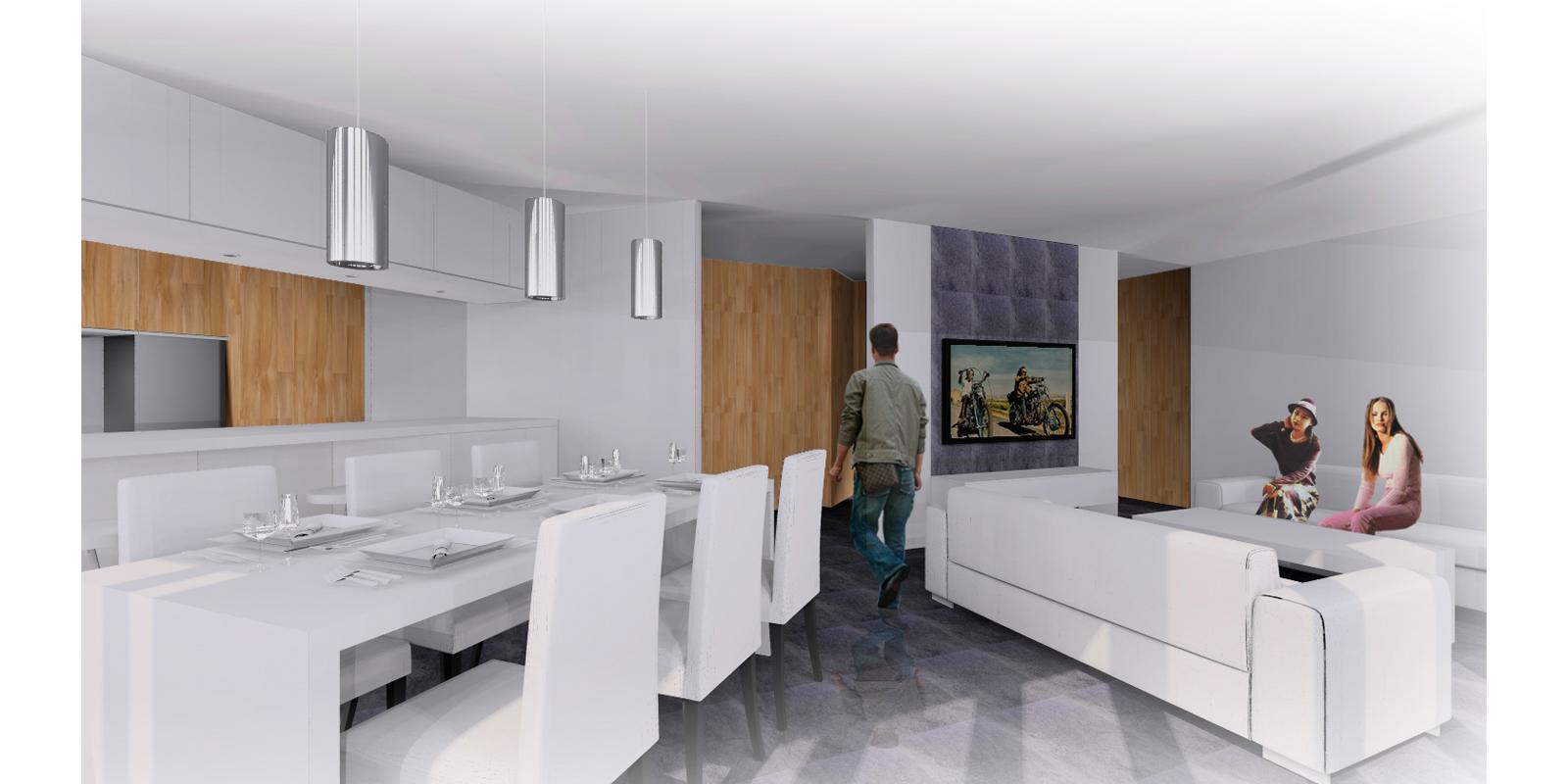 Reforma apartamento salon 5